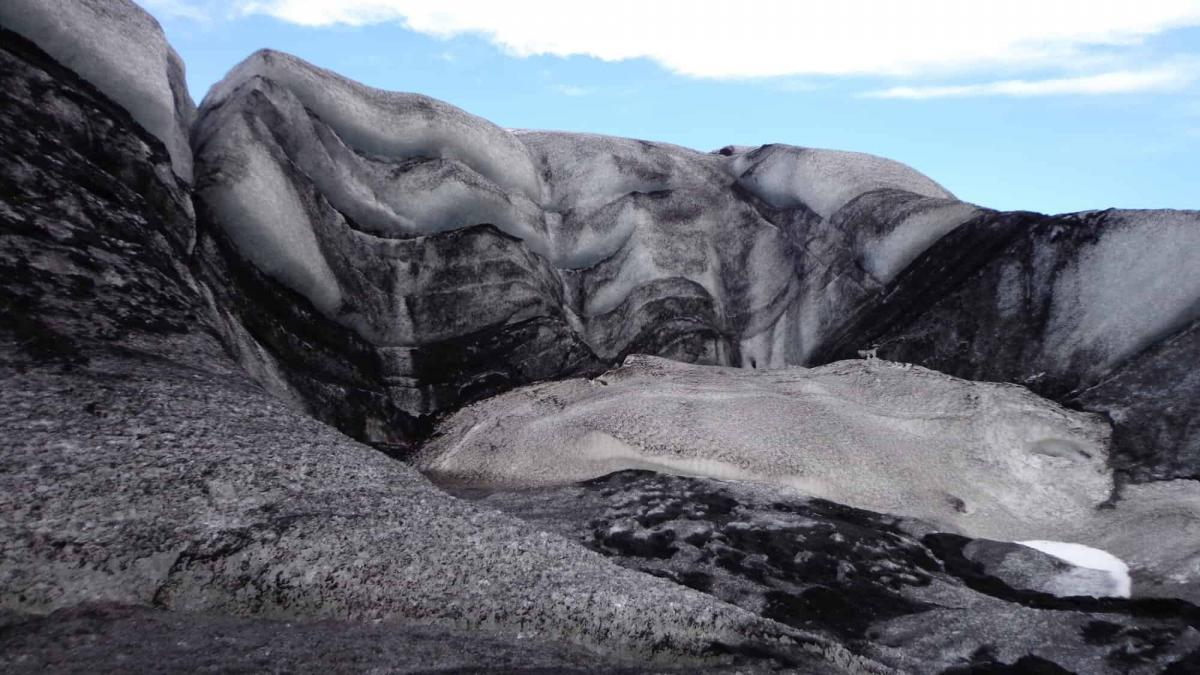 The Incredibly Shrinking Glacier in the South of Iceland
