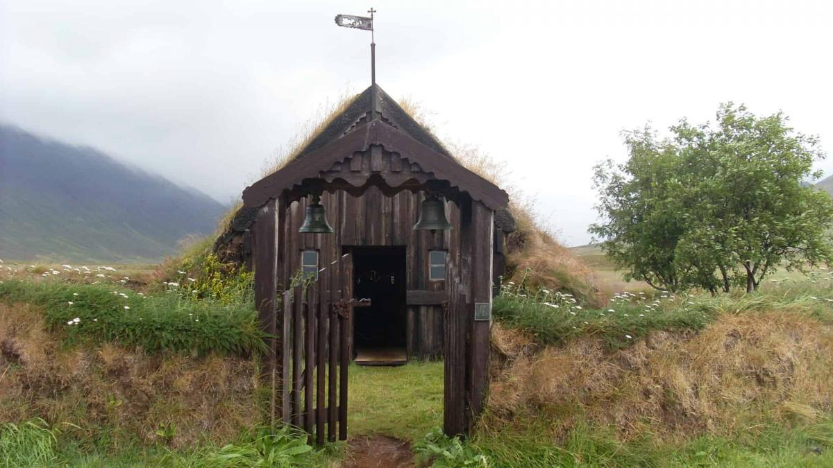 Step Back Into 17th Century Iceland at the Gröf Turf Church