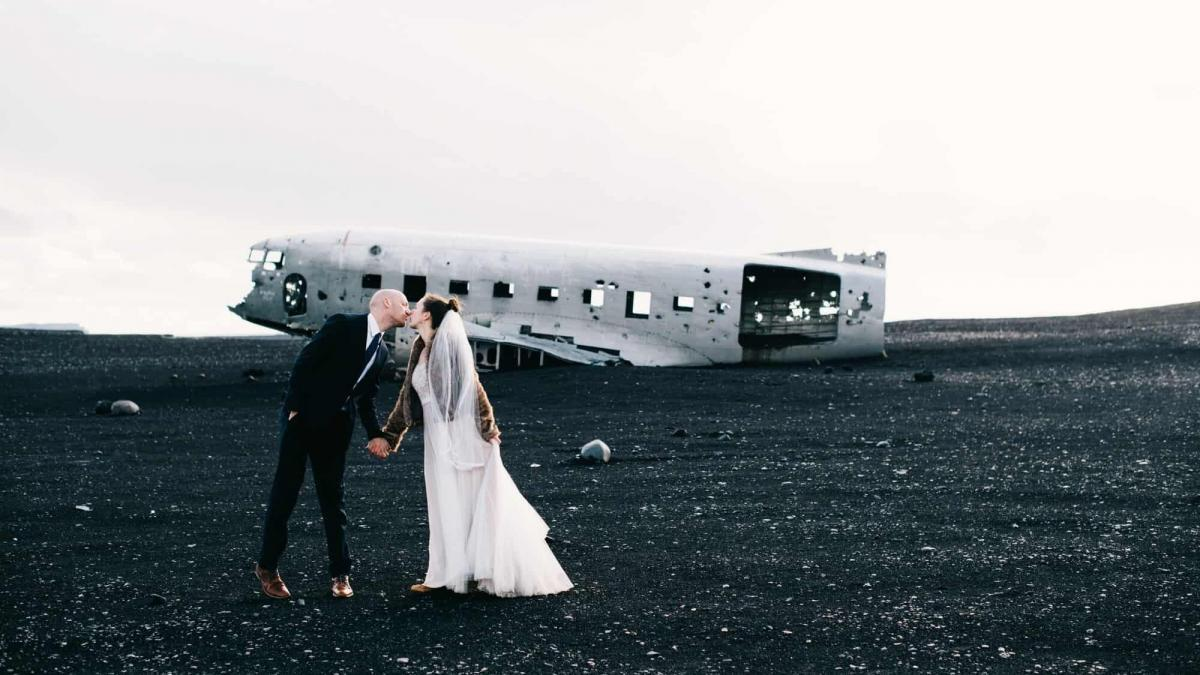 Love of Travel Leads to a Wedding in Iceland