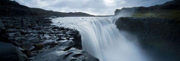 Dettifoss waterfall in Iceland.
