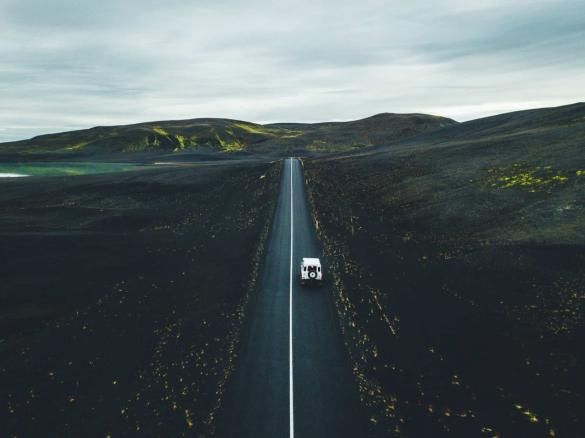 Drive the ring road in Iceland