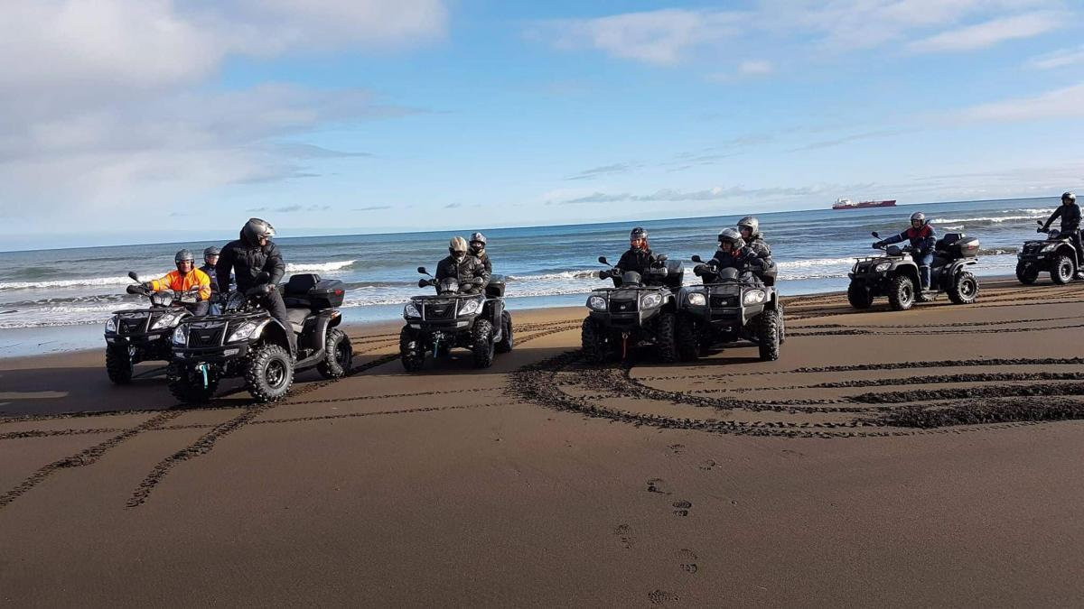 Get 10% off Iceland ATV adventures and race across a black beach