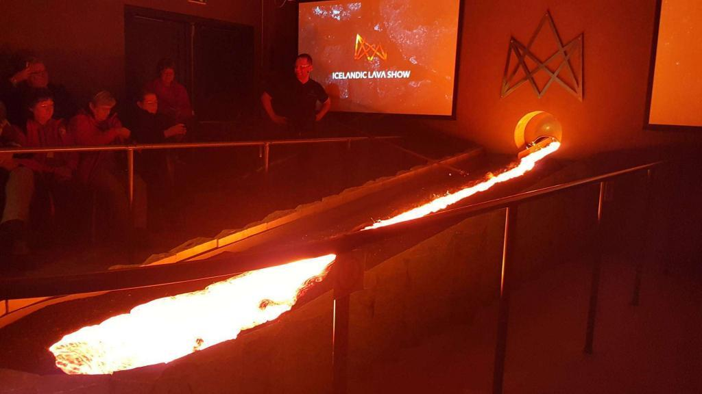Book your ticket online to the Icelandic Lava Show using a discount promo code from Stuck in Iceland Travel Magazine to save.