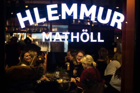 Hlemmur foodhall in Reykjavik.