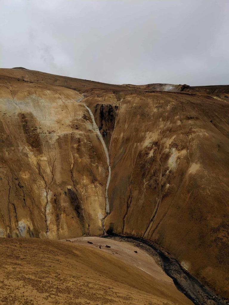 Stream in Hveradalir