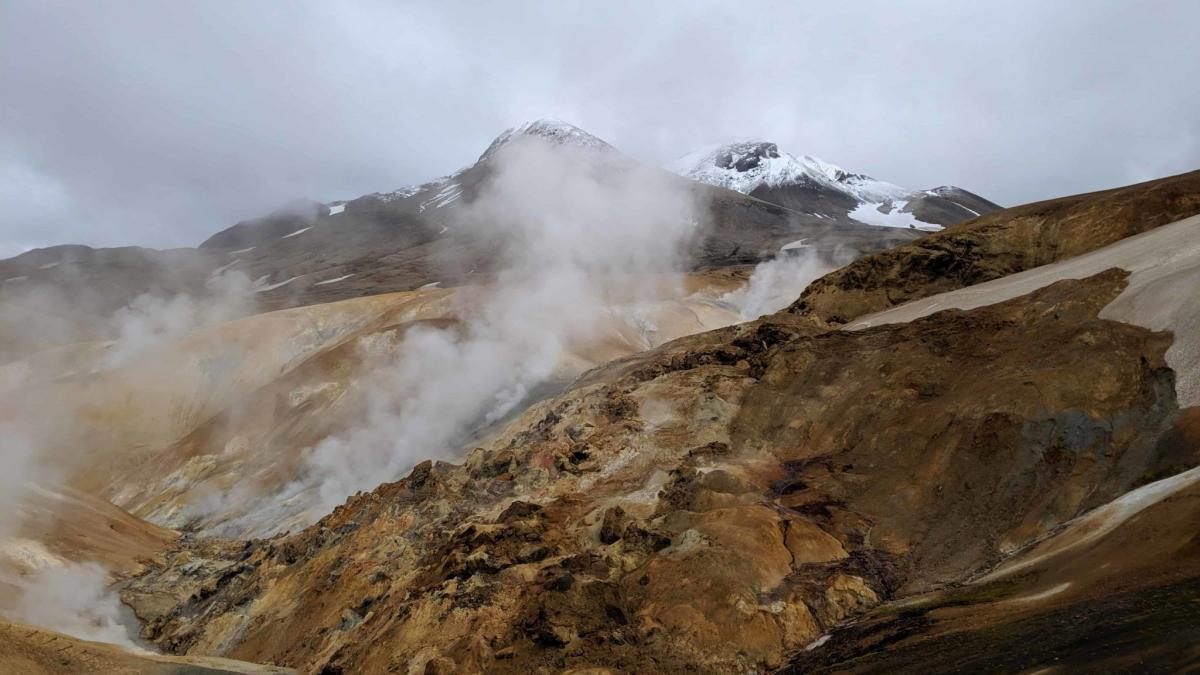 Hveradalir in Kerlingarfjöll – see this geothermal wonderland