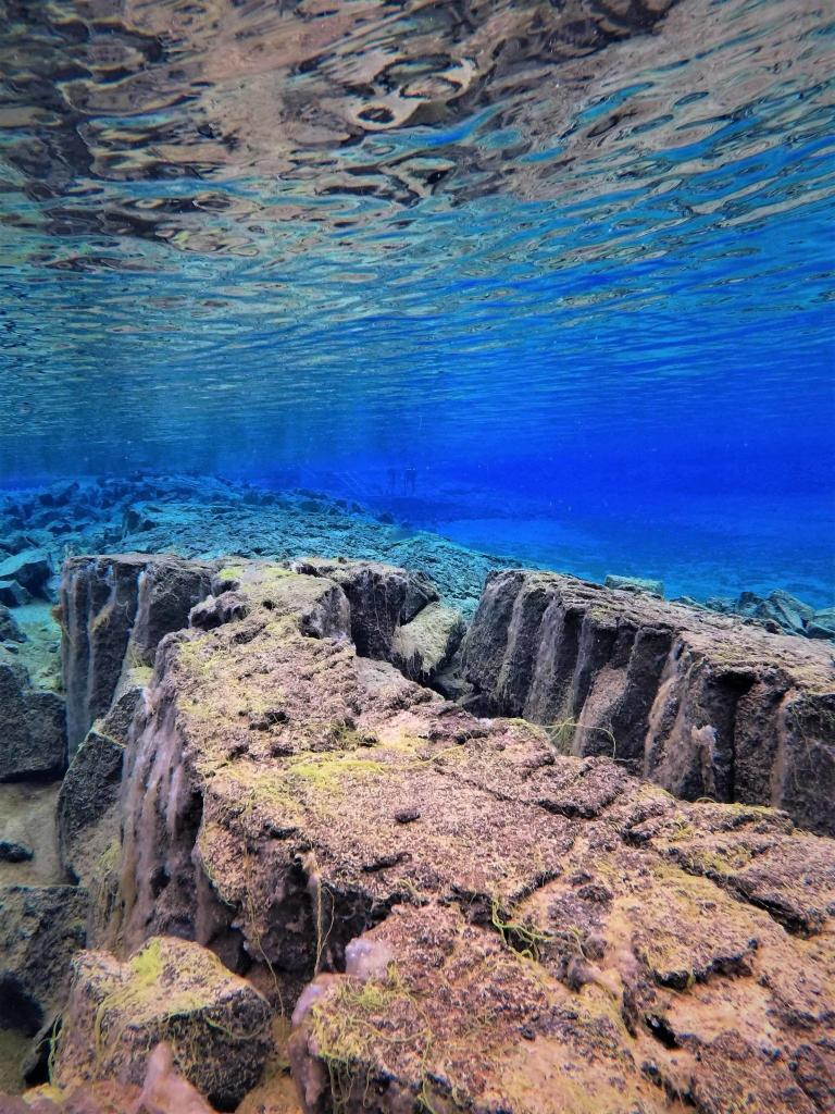 SIlfra fissure is deep and mysterious